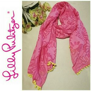 Lilly Pulitzer scarf beach wrap NWOT